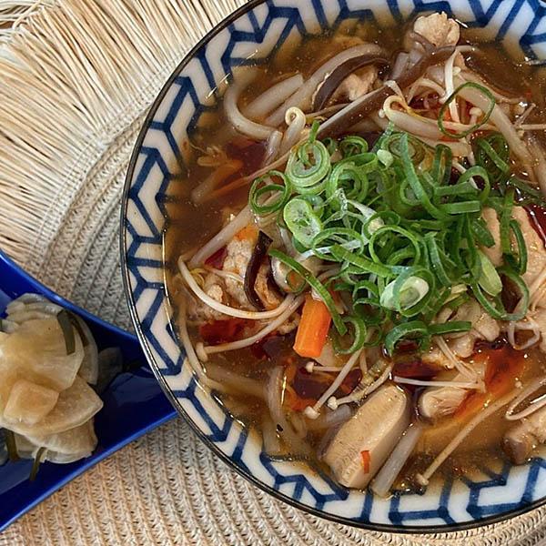 ピリ辛サンラータン麺