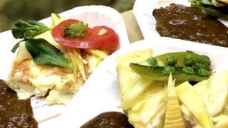 春の旬野菜タケノコ簡単ナンチーズ