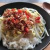 大豆モヤシご飯