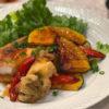 白身魚と野菜の甘酢あんかけ