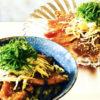 カツオ丼ごま醤油ソース