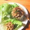 肉味噌レタスラップ