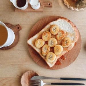 簡単バナナトースト