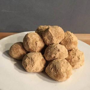 ゴマときな粉のボールクッキー