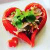 白身魚とトマトのタイ風ラブラブサラダ