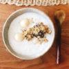お豆腐白玉のココナッツミルク汁粉