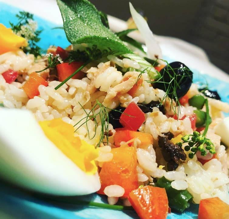 ニース風 お米のサラダ