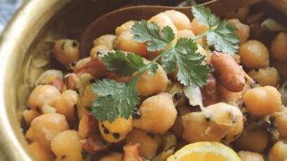 ひよこ豆のスパイス炒め