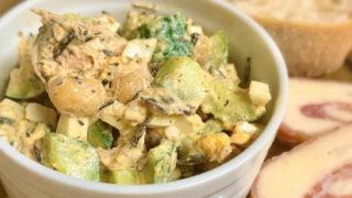 豆とひじきの栄養満点サラダ