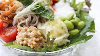 ヴィーガン サラダ蕎麦