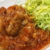 鶏のチリソース煮