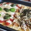 ホットプレートde簡単ピザ