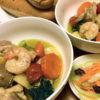 野菜いっぱい簡単アヒージョ