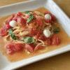 簡単トマトパスタ