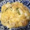海鮮ふわふわ卵とじ餡かけご飯
