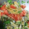 豆アジの香菜マリネ