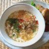鹹豆漿(シェンドウジャン)な牛乳スープ