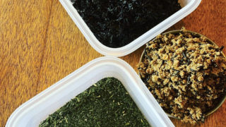 『しそひじきふりかけ』&『高野豆腐のそぼろ』&『わかめと緑茶のふりかけ