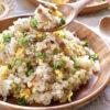 ねぎ塩豚カルビ炒飯