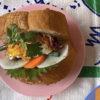 カリカリ揚げ卵のパクッとバインミー