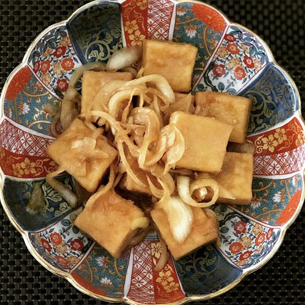高野豆腐の南蛮漬け
