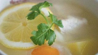 エッグレモンスープ