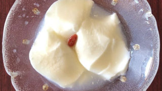 家族で作れる杏仁豆腐