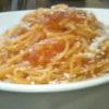 フライパン一つでトマトソースパスタ