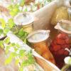 手づくりフルーツビネガーを使った簡単レシピ